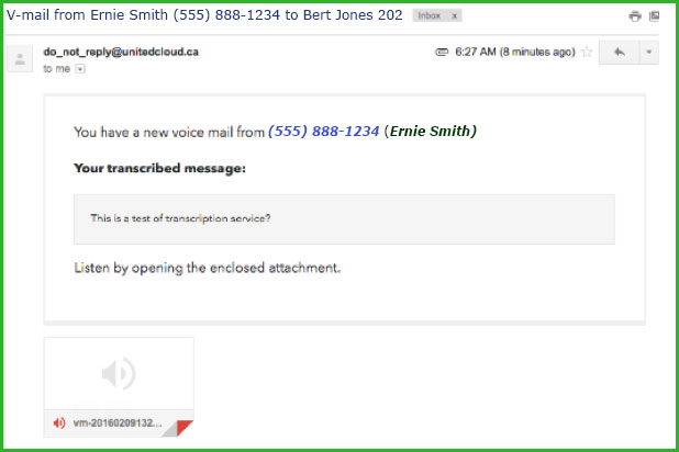 Read Your Voicemails with Voicemail-to-Email Transcription ...