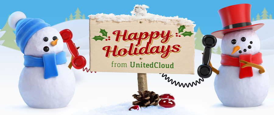 Happy Holidays from UnitedCloud